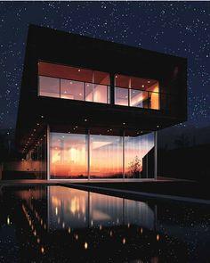 Architecture @archpics  Casa Serrano designed by Christophe Rousselle + Felipe Assadi