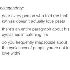 """""""I.. Love... You... Peeta""""~ Katniss Everdeen"""