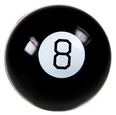 Lek & Spel - Mystic 8 Ball, Ställ en fråga och Mystic 8 Ball har svaret!