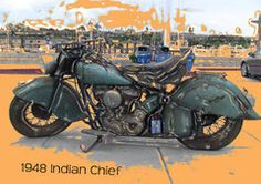 True sound rec,live of a 1948 Indian Chief motorcycle buy a tone so i can buy one thxs mario Classic Bikes, Biker, Mario, Motorcycles, Indian, Stuff To Buy, Motorbikes, Motorcycle, Choppers