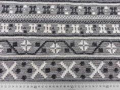 Jacquard Strick Mexico Zeichen - schwarz/ecrue Shopping, Breien, Black, Nice Asses