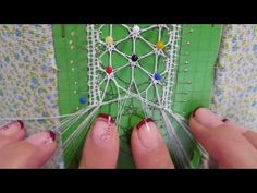 Estrella Decorativa De Ulrike Parte 2 1 - YouTube Bobbin Lacemaking, Bobbin Lace Patterns, Lace Heart, Lace Jewelry, Lace Making, String Art, Plant Hanger, Textile Art, Lace Detail
