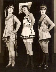 1920's bathing beauties