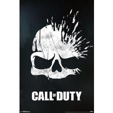 Call of Duty Poster Skull
