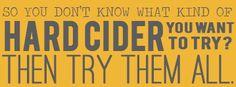 Cider Styles, a Primer