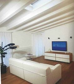 Mansard roof - Recovery attic   Project by Fabio Carria architect Milan 2008