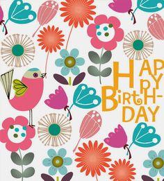 Birdie and Blooms Birthday
