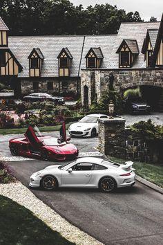 Porsche 911 GT3 | Lamborghini Aventador LP 700-4 | Maserati GranTurismo