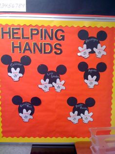 Disney classroom handy helpers image by sooze73 on Photobucket