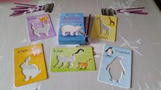 1maman2filles les-animaux-cartes-pochoirs-livre-d-ac