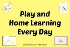 Plenty of ideas to keep children busy playing and learning at home while you are self isolating and homeschooling during lockdown. Educational Activities, Book Activities, Orchard Toys, Schools Around The World, Library Website, Local Library, Every Day Book, Home Learning, Printable Worksheets
