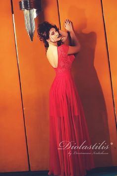 Diolastilis dress - by Lacramioara Iordachescu One Shoulder, Formal Dresses, Fashion, Dresses For Formal, Moda, Formal Gowns, Fashion Styles, Formal Dress, Gowns