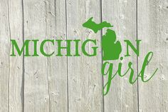 Michigan Car Decal  Michigan Car Decal  by HandmadeHarrisburg