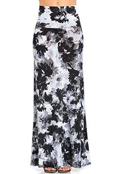 NioBe Clothing NioBe Various Printed Full Length Banded Waist Foldover Maxi Skirt Maxi Skirt Crop Top, Chevron Maxi Skirts, Maxi Skirt Outfits, Maxi Skirt Black, Printed Maxi Skirts, Long Maxi Skirts, Floral Maxi, Fashion Outfits, Womens Fashion