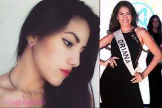 Oriana Julissa Sanchez Miss Mundo Nicaragua 2016 Finalist
