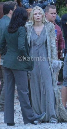 "Jennifer and Lana - Behind the scenes - Season 5 Episode 1 ""Dark Swan"" 14 july 2015"