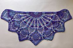 Ravelry: Pineapple Peacock Shawl pattern by Amy Gunderson