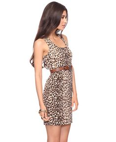 cheetah dress $19.80