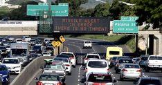 Hawaii 'ballistic missile threat' alert to phones was false alarm, officials say