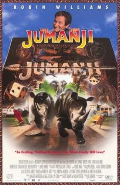 پوستر فیلم Jumanji