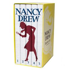 Custom Nancy Drew Book Set - slipcase