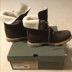 7eee2d83809 28 Awesome timberland fold down fleece boot images