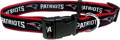 Pets First NFL New England Patriots Pet Collar Medium ** Continue to the product at the image link.