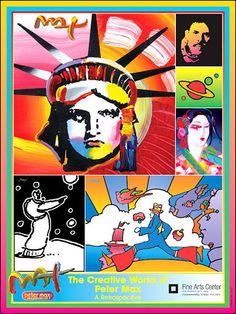 The Creative World Peter Max 2006