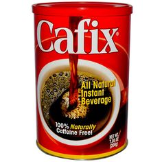 Had to quit coffee and was desperate to find a substitute--this is GREAT!  Cafix, All Natural Instant Beverage, Caffeine Free, 7.05 oz (200 g)    Get the Best Price at iherb.com. SAVE 5 dollars off a 20 dollar  order and get FREE SHIPPING by putting in code..FAF540 when you buy.