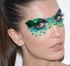 #carnaval #make #máscara #sombras #brilhos
