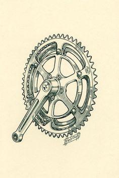 #Bicicleta #Ilustração #ciclismo