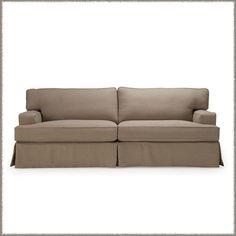 Santa Barbara Slipcovered Sofa (88 or 98w x 40d x 40h)