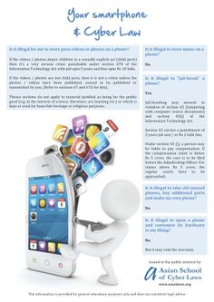 Your Smartphone and Cyber Law - www.LEAPcourses.com