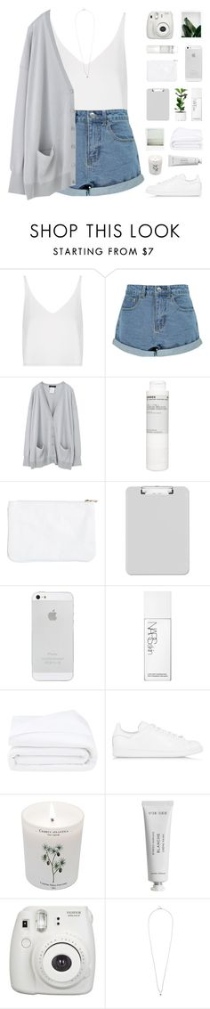 """""""love yourself [TOP SET]"""" by modernyouth ❤ liked on Polyvore featuring Topshop, Boohoo, Korres, NARS Cosmetics, Frette, adidas Originals, Carriere, Byredo, Tina Lilienthal and women's clothing"""