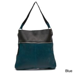 Crafted in Colombia, this shoulder bag utilizes leather and recycled tire tubes in its construction for a unique look. This stylish bag features a front zipper pocket and a magnetic top closure allowing access to its roomy main compartment.
