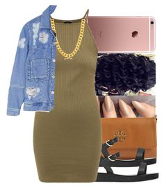 """""""Untitled #1229"""" by swagger-on-point-747 ❤ liked on Polyvore featuring Tory Burch, Ancient Greek Sandals and House of Holland"""
