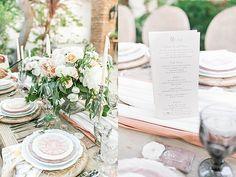 Romantic Wedding Inspiration at The Villa San Juan Capistrano by Michelle Isabel // Florals @julepbloom