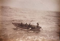 Though Titanic had advanced safety features such as watertight compartments and remotely activated watertight doors, she lacked enough lifeboats to accommodate all of those aboard. Due to outdated maritime safety regulations, she carried only enough lifeboats for 1,178 people – a third of her total passenger and crew capacity. This Sepia photograph depicting the recovery of Titanic passengers is among memorabilia set to go under the hammer at Christies in London, May 2012. (Paul Treacy…