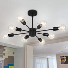 #modern #semiflushmout #sputniklight #ceilinglight #lighting #lightfixture