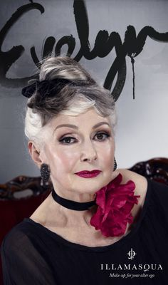 Illamasqua Generation Q: Q is a clear message to everybody, everywhere that beauty is not young, old, black, white, male or female, but anything, everything and everyone.    Evelyn--I don't want to look this good when I'm 72...  I want to look this good NOW!