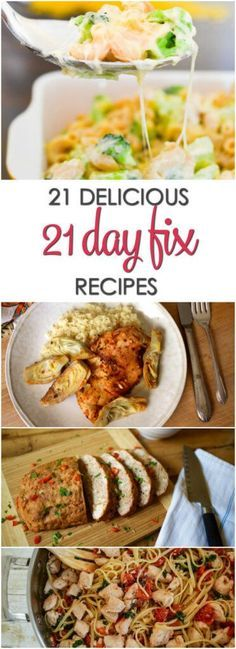 21 Day Fix Recipes - including breakfast, lunch and dinner paleo breakfast crockpot 21 Day Fix Diet, 21 Day Fix Meal Plan, 21 Day Fix Menu, Clean Dinners, Lunches And Dinners, Healthy Recipes For Weight Loss, Healthy Dinner Recipes, Delicious Recipes, Pizza Recipes