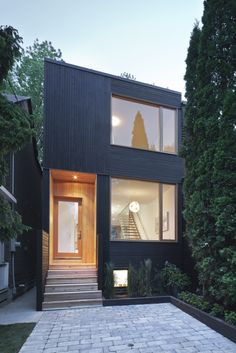 Architecture Design Of Small House narrow dwelling in toronto converted into bright family refuge