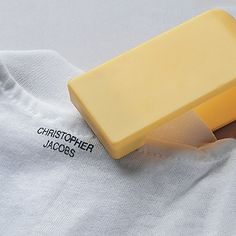 Easy clothing labeler