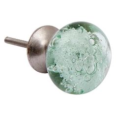 Buy Bombay Duck Glass Bubbles Cupboard Knob, Dia.40mm Online at johnlewis.com