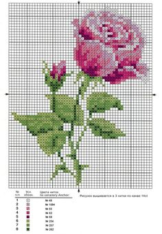 Brilliant Cross Stitch Embroidery Tips Ideas. Mesmerizing Cross Stitch Embroidery Tips Ideas. Cross Stitch Rose, Cross Stitch Borders, Cross Stitch Flowers, Cross Stitch Charts, Cross Stitch Designs, Cross Stitching, Cross Stitch Embroidery, Embroidery Patterns, Cross Stitch Patterns