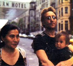 Yoko, John and Sean