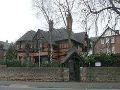 Watson Fothergill house in Nottingham - now the Ukranian Centre. It's beautiful.