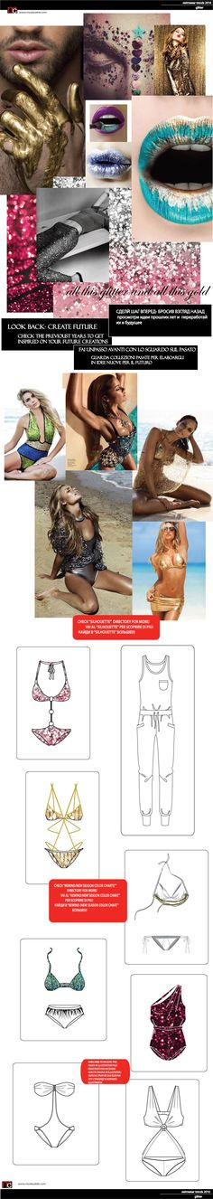 Swimwear trends SS2016 only on www.modacable.com, join us and get the free access via Dropbox to all the files!!