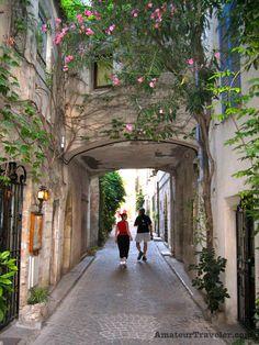 Back street in Antibes