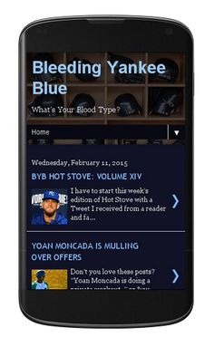 Bleeding Yankee Blue: YOU SHOULD CHECK BYB OUT ON MOBILE!